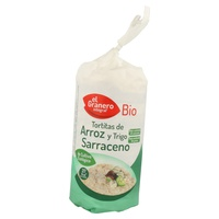 Tortitas de arroz y trigo sarraceno