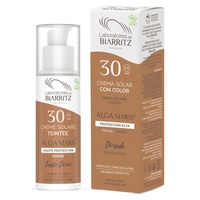 Crema Facial Color Dorado SPF30 Alga Maris