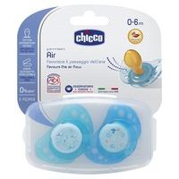 Chupeta de borracha Physio Air Blue 0-6m