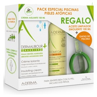Dermalibour Barrier Pack + Exomega oil 100ml + Glasses