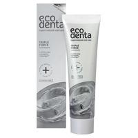 Pasta do zębów Ecodenta Extra Triple Effect z glinką, propolisem i Teavigo