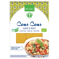 70% corn cous cous and 30% rice