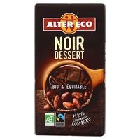 Chocolate negro para postres bio