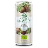 Native Organics Refrescos Isotónico Bio Coco sin gas