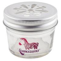 Pot de rangement en verre pour cosmétiques solides