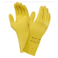 Natural Universal Plus Reusable Latex Gloves - Size S