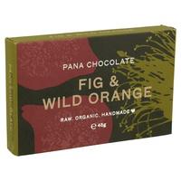 Tableta de Chocolate con Higo y Naranja Silvestre