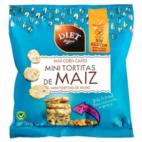 Mini Tortitas de Maíz Sin Gluten