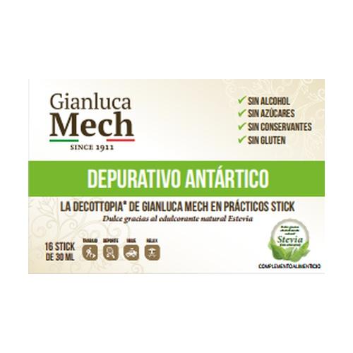Depurativo Antártico Caja de 16 sticks de 30 ml de Herbofarm