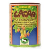 Organic defatted cocoa powder