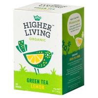 Té verde y limón bio