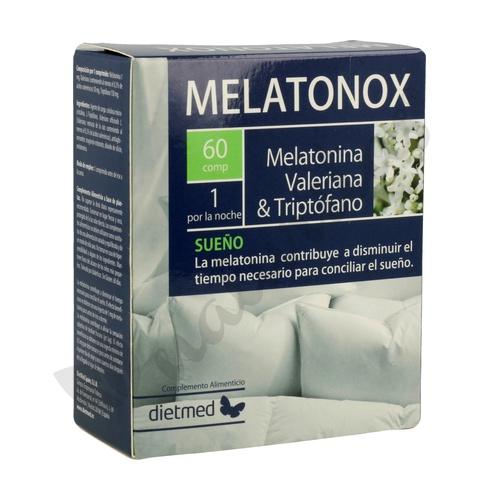 Melatonox Melatonina 1.9 mg 60 comprimidos de Dietmed