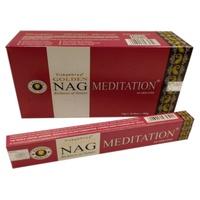 Incenso Golden Nag Meditação