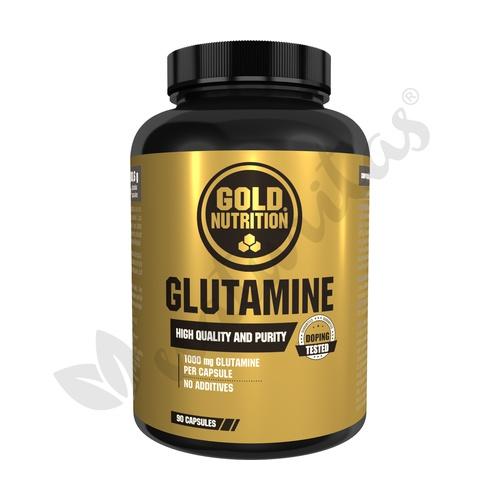Glutamina 90 cápsulas de 1000 mg de Gold Nutrition