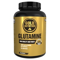 Glutamina 90 cápsulas de 1000 mg de Gold Nutrition