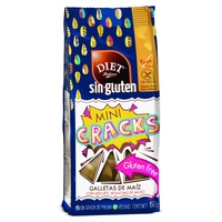 Mini cracks Galletas de maíz