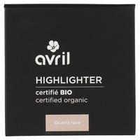 Highlighter Quartz Rose Certifié bio