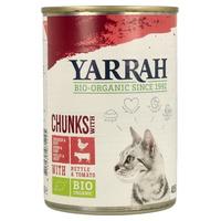 Comida para Gatos de Frango e Vitela com Urtiga e Molho de Tomate
