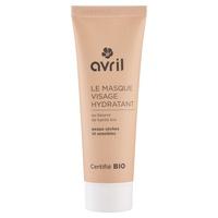 Mascarilla facial hidratante piel seca y sensible Bio
