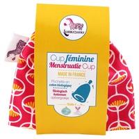 Coppetta mestruale taglia 1 in sacchetto rosa