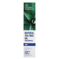 Dentífrico de árbol de té con sabor a menta