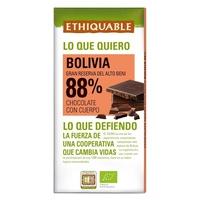 Czarna czekolada 88% boliwia bio