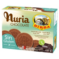 Nuria Chocolate sin gluten
