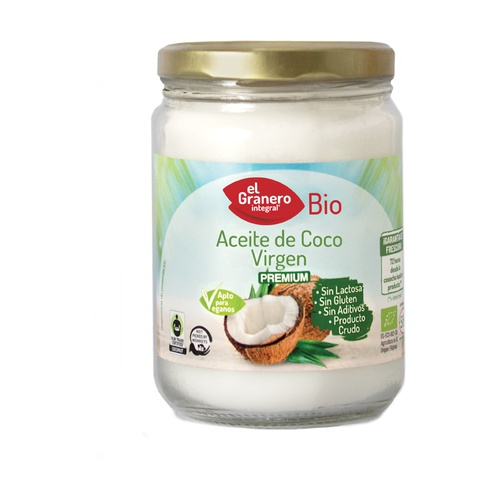 Aceite de coco virgen premium