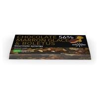 Chocolate 56% Marron Glace y Boletus