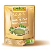 Sopa Kale Brócoli y Coliflor