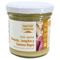 Sweet Potato, Ginger and Organic Black Cumin Pate