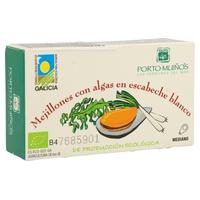 Mejillones Con Algas Con Escabecho Blanco