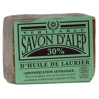 Jabón alep 30% de aceite de laurel