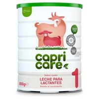 Preparado para amamentar à base de leite de cabra