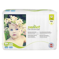 Biodegradable Diapers Size 4 Maxi (7-18 Kg)
