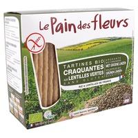 Tartines Craquantes Bio Lentilles vertes