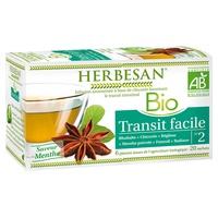 Organiczny napar z łatwego tranzytu Herbesan