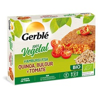 Hamburguesa Quinoa y Bulgur con Tomate
