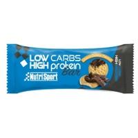 Barre protéinée à faible teneur en glucides (saveur biscuit-chocolat)