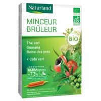 Schlankheitsbrenner Grüner Tee Grüner Kaffee Guarana Bio-Mädesüß