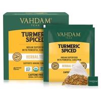 Herbal tea with turmeric