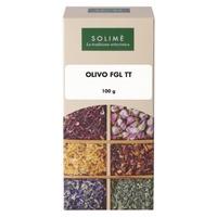 Tisane aux feuilles d'olivier coupées