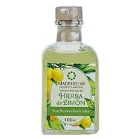 Natural Lemongrass Cologne Glass Bottle