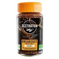 Café soluble liofilizado para desayuno bio