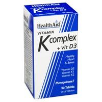 Complesso di vitamina K con vitamina D3