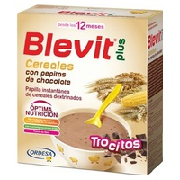 Blevit Plus Cereal Chips And Chocolate Chips 12m +