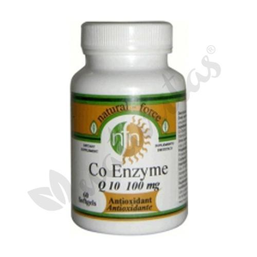 Coenzima Q10 60 perlas de 100 mg de Nutri-Force