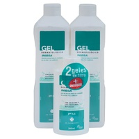 Pack 2 gel dermatológico corporal + regalo formato viaje