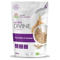 Avoine Divine Cacahuetes & Banane