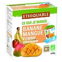 Bebidas de Manzana Mango y Plátano Bio